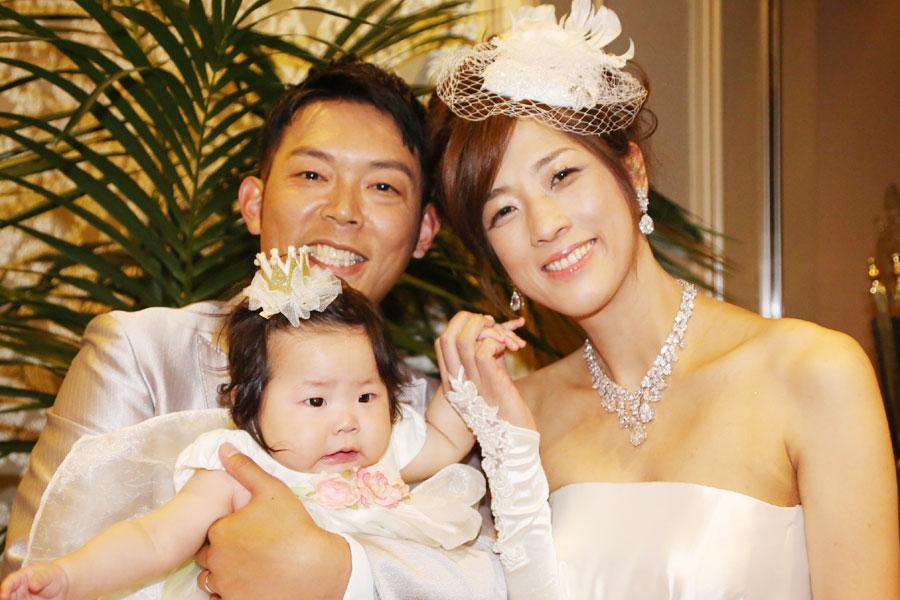 江戸川橋で結婚式二次会をした新郎新婦
