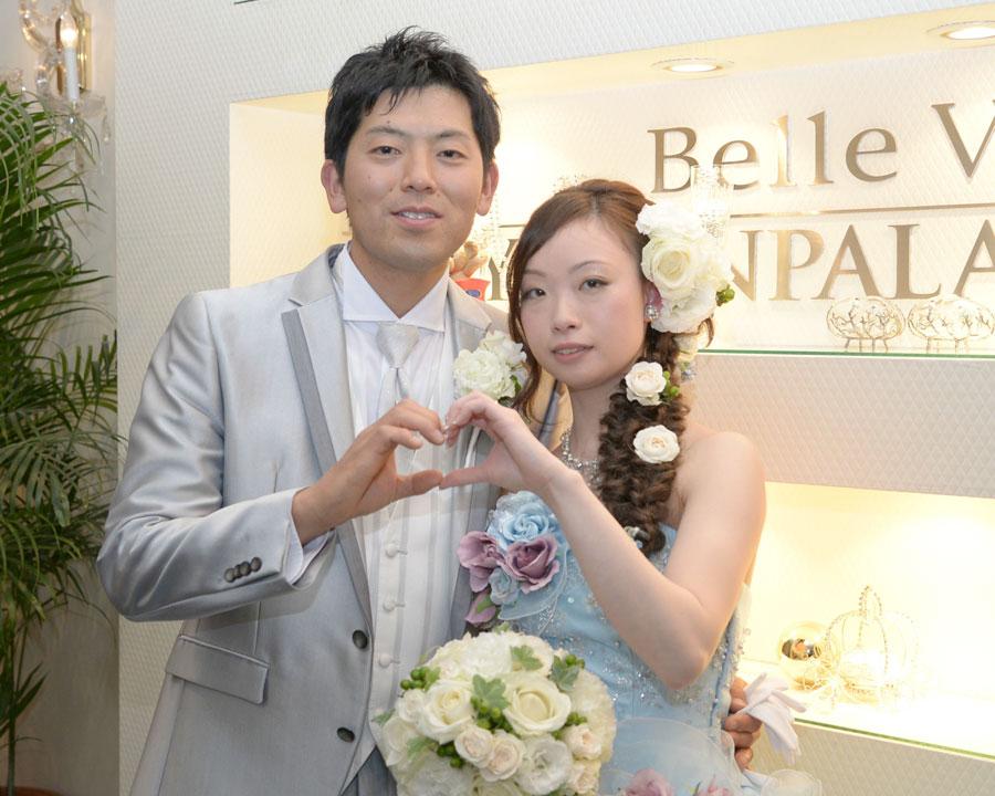 大宮で結婚式二次会をした新郎新婦