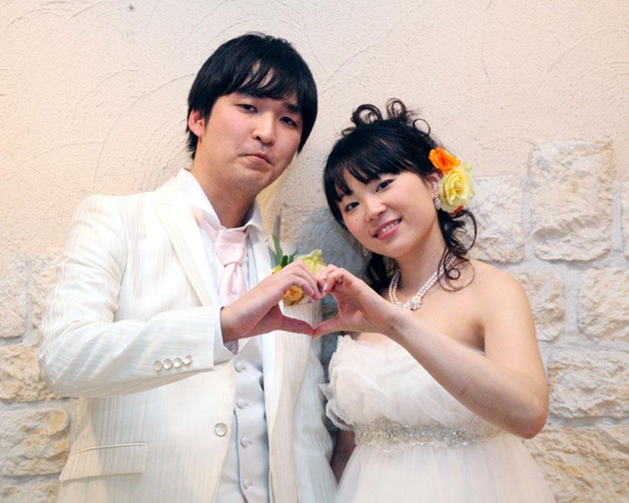 藤沢で結婚式二次会をした新郎新婦