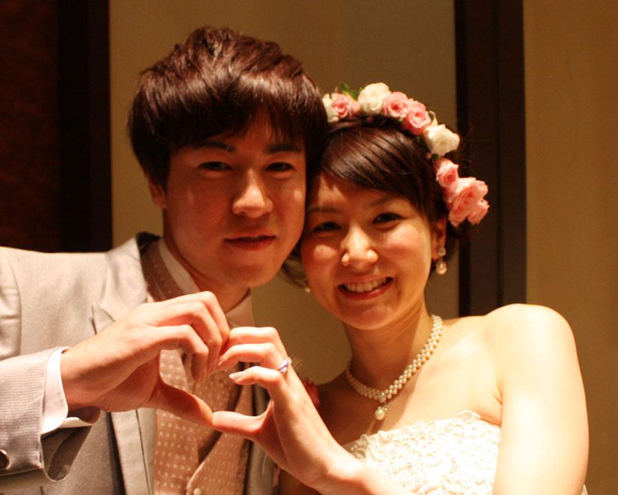 表参道で結婚式二次会 聡さん 彩乃さんの声 2次会レリッシュ